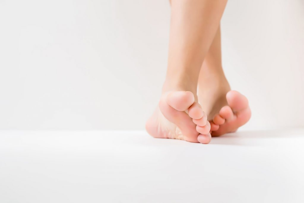 Brachydaktylie am Fuß
