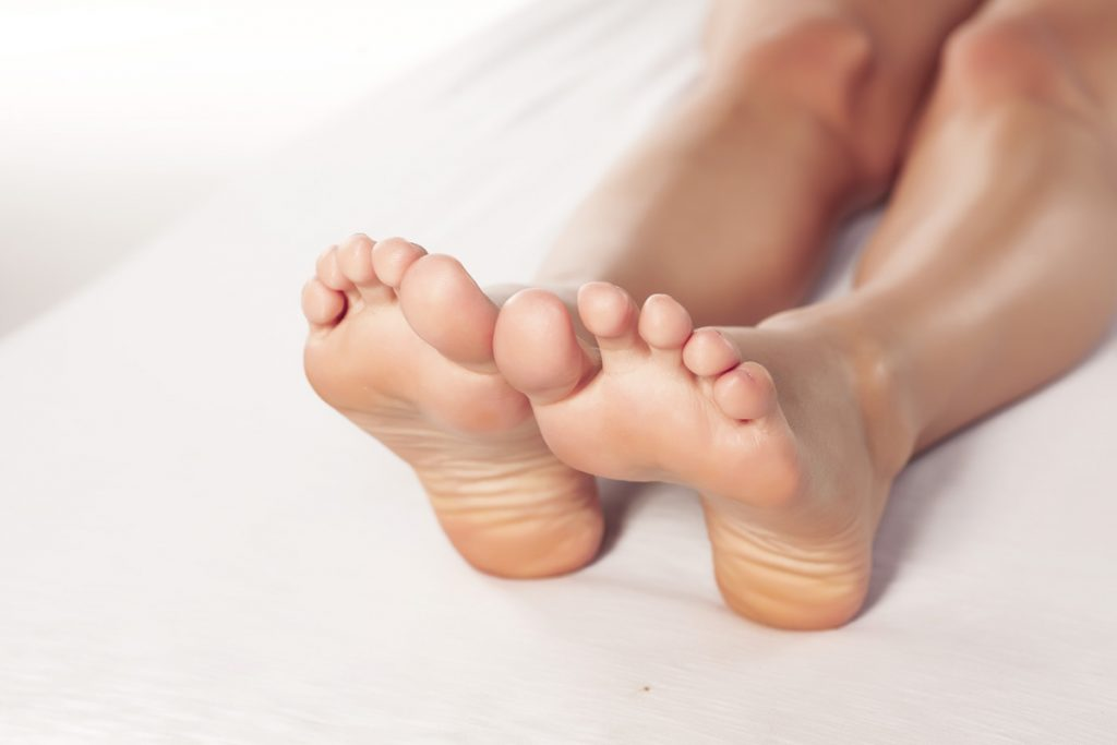Kallusdistraktion bei verkürzten Zehen
